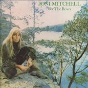 Joni Mitchell For The Roses - EX UK vinyl LP