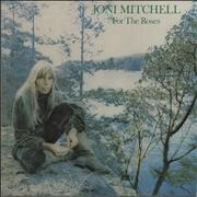 Joni Mitchell For The Roses Germany vinyl LP