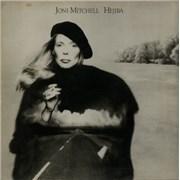 Joni Mitchell Hejira + Art Print UK vinyl LP