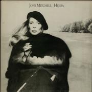 Joni Mitchell Hejira UK vinyl LP
