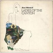 Joni Mitchell Ladies Of The Canyon - 1st - EX UK vinyl LP