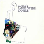 Joni Mitchell Ladies Of The Canyon - Barcoded Germany vinyl LP