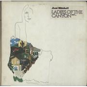 Joni Mitchell Ladies Of The Canyon - Stickered sleeve USA vinyl LP