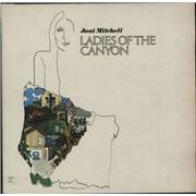Joni Mitchell Ladies Of The Canyon - 2nd UK vinyl LP
