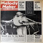 Joni Mitchell Melody Maker January 1975 UK magazine