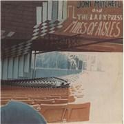 Joni Mitchell Miles Of Aisles - 1st - EX UK 2-LP vinyl set