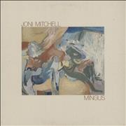 Joni Mitchell Mingus - EX UK vinyl LP
