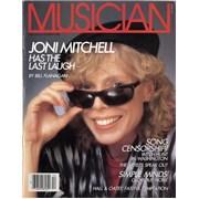 Joni Mitchell Musician USA magazine