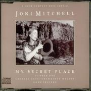 "Joni Mitchell My Secret Place UK 3"" CD single"