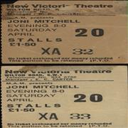 Click here for more info about 'Joni Mitchell - Pair of Ticket Stubs'