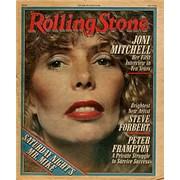 Joni Mitchell Rolling Stone USA magazine