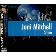 Joni Mitchell Shine Japan CD album