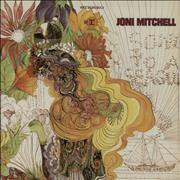 Joni Mitchell Song To A Seagull - 3rd USA vinyl LP