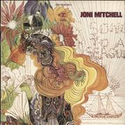 Joni Mitchell Song To A Seagull UK vinyl LP