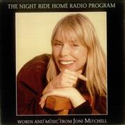 Joni Mitchell The Night Ride Home Radio Program Canada CD album Promo