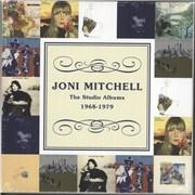 Joni Mitchell The Studio Albums 1968-1979 UK cd album box set