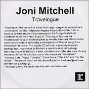 Click here for more info about 'Joni Mitchell - Travelogue'