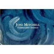 Joni Mitchell Turbulent Indigo - Postcard Booklet USA memorabilia Promo