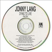 Click here for more info about 'Jonny Lang - Dying To Live'