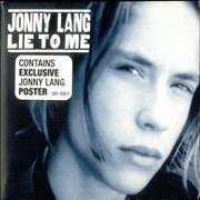 Click here for more info about 'Jonny Lang - Lie To Me + Poster'