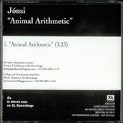 Click here for more info about 'Jonsi - Animal Artithmetic'