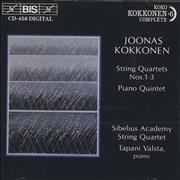 Click here for more info about 'Joonas Kokkonen - String Quartets Nos. 1 - 3 & Piano Quintet'