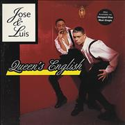 Click here for more info about 'Jose & Luis - Queen's English - Promo Stamped'