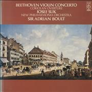 Click here for more info about 'Josef Suk (1929-2011) - Beethoven: Violin Concerto / Coriolan Overture'