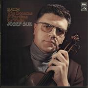 Click here for more info about 'Josef Suk (1929-2011) - Bach: The Violin Sonatas And Partitas For Violin'