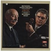 Click here for more info about 'Josef Suk - Beethoven: Violin Concerto/ Coriolan Overture - black & white stamp'