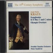 Click here for more info about 'Joseph Martin Kraus - Symphonis in E flat, C and C minor / Olympie Overture'