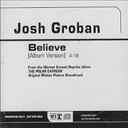 Click here for more info about 'Josh Groban - Believe'