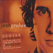 Click here for more info about 'Josh Groban - Closer'