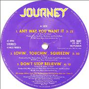 Click here for more info about 'Journey - Any Way You Want It'