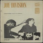 Click here for more info about 'Joy Division - A History In Cuttings - Yellow Text Cover'