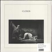 Click here for more info about 'Joy Division - Closer - 40th Anniversary Crystal Clear Vinyl'