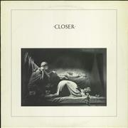 Click here for more info about 'Joy Division - Closer - EX'