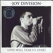Click here for more info about 'Love Will Tear Us Apart - Grey Vinyl - Sealed'