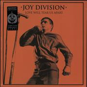 Click here for more info about 'Joy Division - Love Will Tear Us Apart - Orange vinyl'