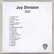 Click here for more info about 'Joy Division - Still'