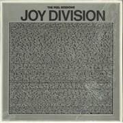 "Joy Division The Peel Sessions - textured sleeve  - Shrink UK 12"" vinyl"
