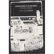 Joy Division Unknown Pleasures: Inside Joy Division UK book