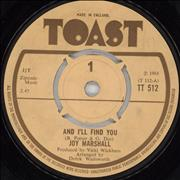 Click here for more info about 'Joy Marshall - And I'll Find You'