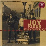 Click here for more info about 'JoyRider - Seven Sisters E.P. - Red Vinyl'