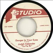 Click here for more info about 'Judah Eskender Tafari - Danger In Your Eyes'