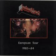 Click here for more info about 'Judas Priest - European Tour 1983-84 + Ticket Stubs'