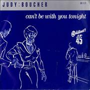 Click here for more info about 'Judy Boucher - Can't Be With You Tonight - P/S'