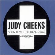 Click here for more info about 'Judy Cheeks - So In Love'