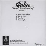 Click here for more info about 'Jukes - Wasn't Even Looking EP'