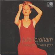 Click here for more info about 'Julia Fordham - I Thought It Was You - Part 1 & Part 2'